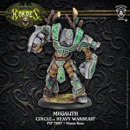 Circle Megalith Heavy Warbeast RESIN
